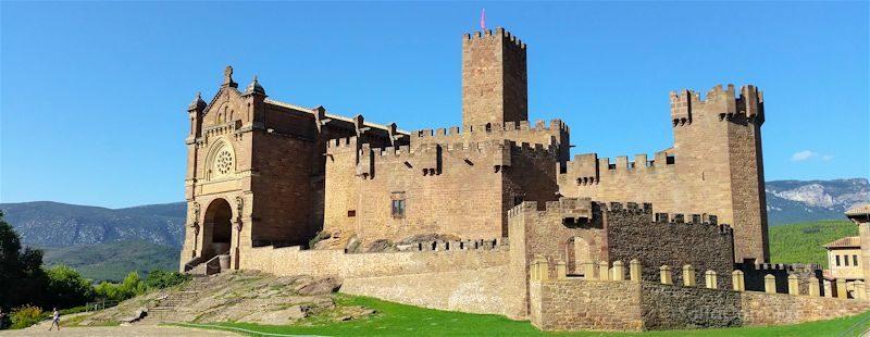 Navarra Castillo Javier Panorama