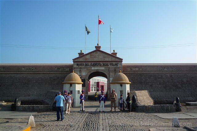Peru Lima Fuerte Callao
