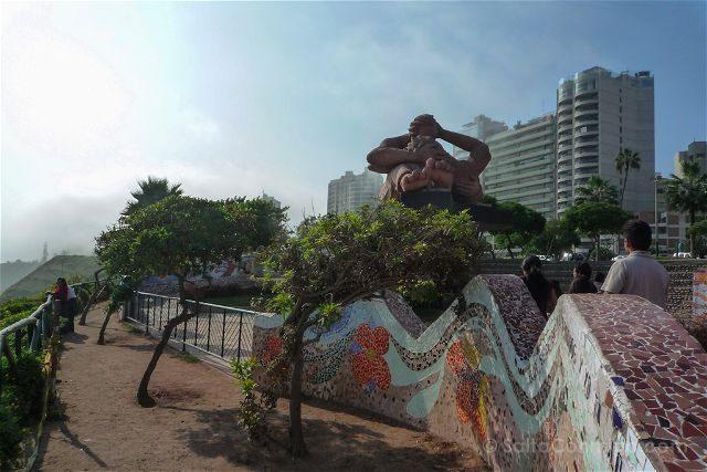 Peru Lima Miraflores Parque Amor