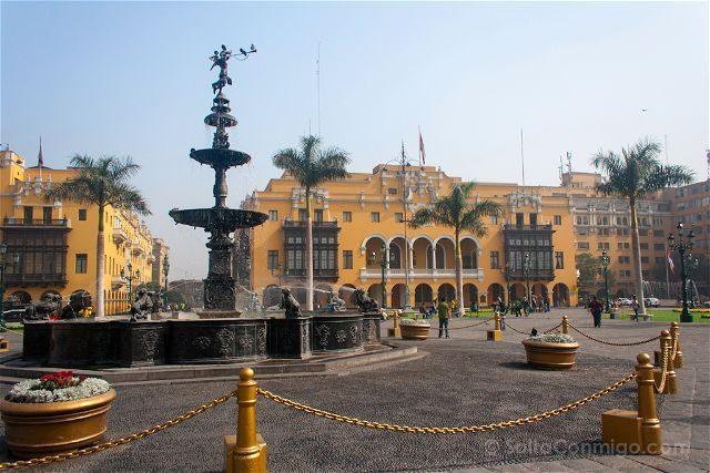 Que ver en Peru Lima Plaza Armas
