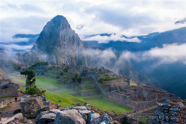 Peru Machu Picchu Niebla