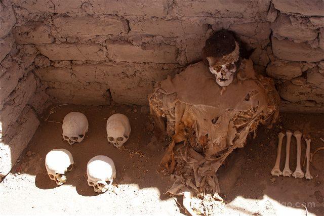 Peru Nazca Cementerio Chauchilla