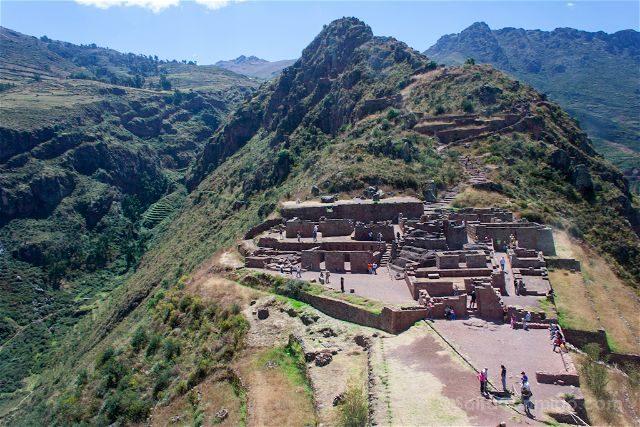 Peru Pisac Ruinas Incas