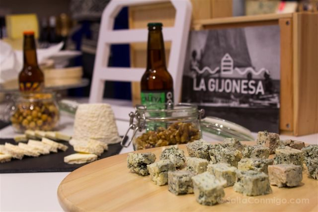 Asturias Gijon Gijonesa Cata Quesos Cervezas