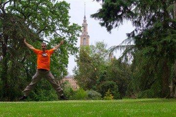 Asturias Gijon Jardin Botanico Atlantico Salto