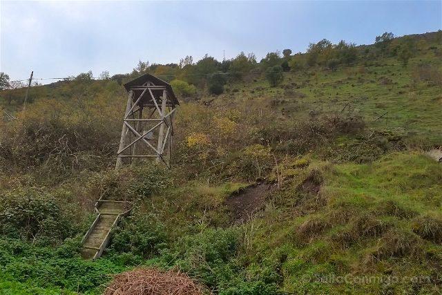 Castilla Leon Burgos Complejo Minero Puras Villafranca Castillete