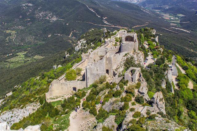 Francia Pais Cataro Castillo Peyrepertuse