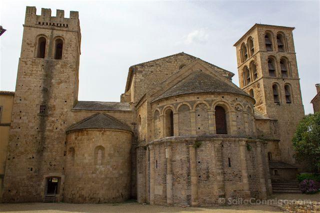 Francia Pais Cataro Caunes-Minervois Catedral