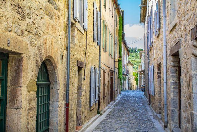 Francia Pais Cataro Lagrasse Calle