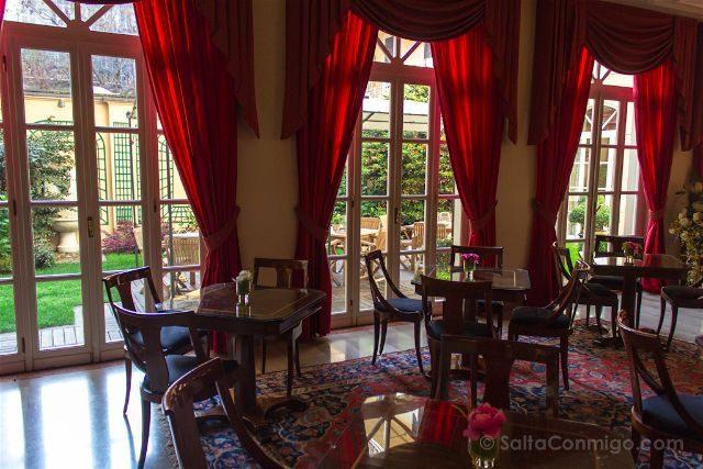 Turin Gran Hotel Sitea Desayunador