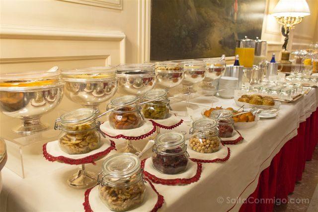 Turin Gran Hotel Sitea Desayuno