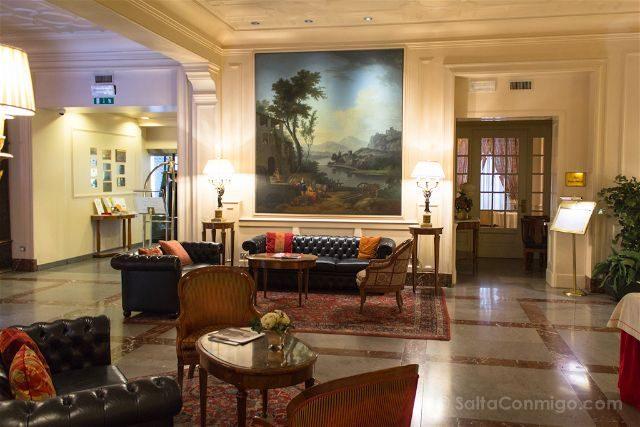 Turin Gran Hotel Sitea Recepcion