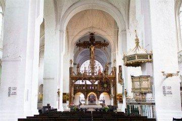 Alemania Lubeck Catedral Dom Interior