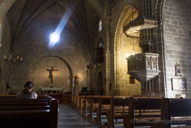Alicante Javea Xabia Centro Iglesia Fortaleza San Bartolome Interior