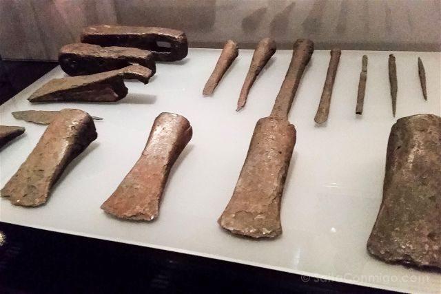 Alicante MARQ Museo Arqueologico Vikingos Hachas
