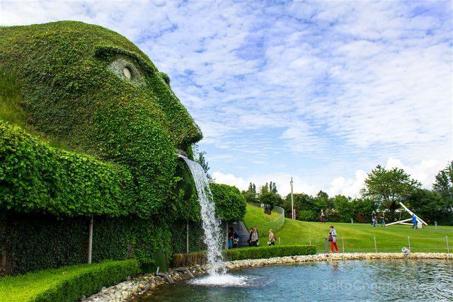 Austria Innsbruck Wattens Mundo Cristal Swarovski Gigante Entrada