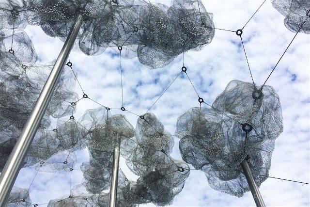Austria Innsbruck Wattens Mundo Cristal Swarovski Nubes Cielo