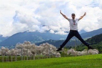 Austria Innsbruck Wattens Mundo Cristal Swarovski Salto