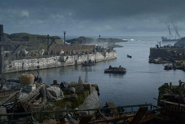 Ballyntoy Harbour Game of Thrones Scene HBO