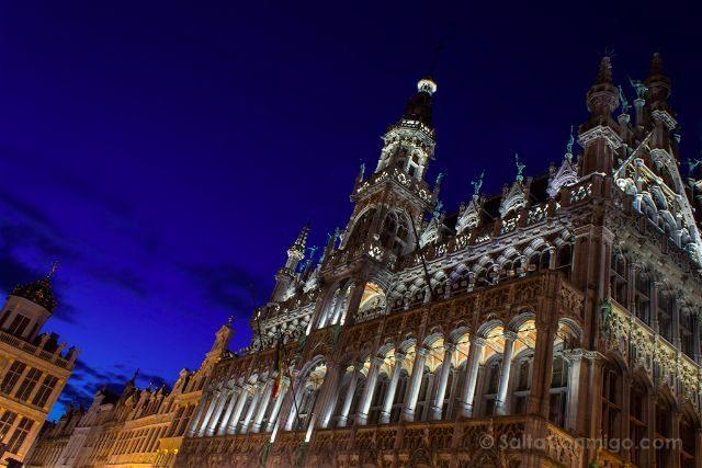 Belgica Bruselas 100masters Grand Place Maison Du Roi Hora Azul
