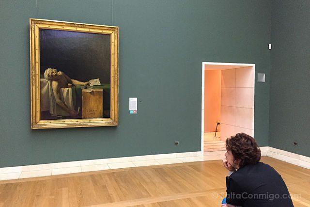 Belgica Bruselas 100masters Museo Arte Moderno La Muerte Marat David