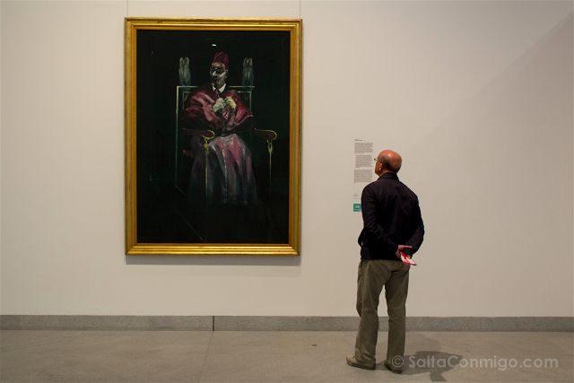 Belgica Bruselas 100masters Museo Arte Moderno Papa Con Buho Francis Bacon