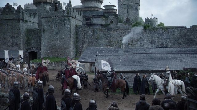 Castel War Game Of Thrones Scene HBO