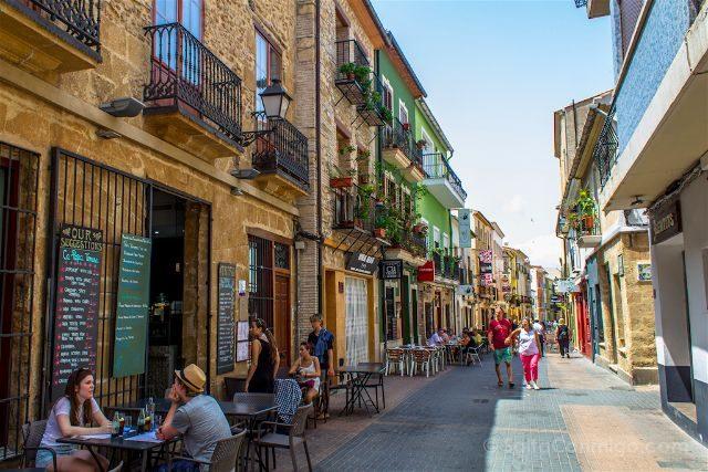 Comunidad Valenciana Alicante Denia Centro Calle Loreto Tapas