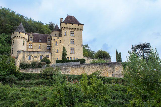 Francia Aquitania Perigord Negro La Roque-Gageac Chateau Malartrie