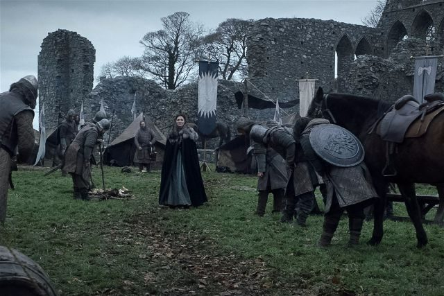 Inch Abbey Game of Thrones Scene HBO
