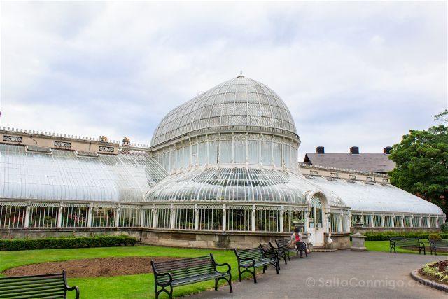 Irlanda Norte Belfast Jardin Botanico Palm House