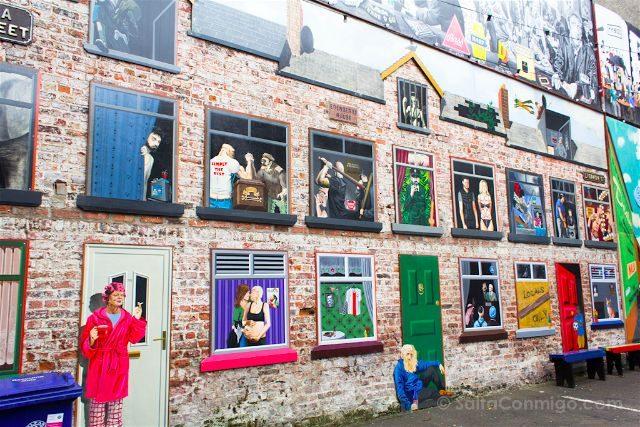 Irlanda Norte Belfast Pubs Grafiti