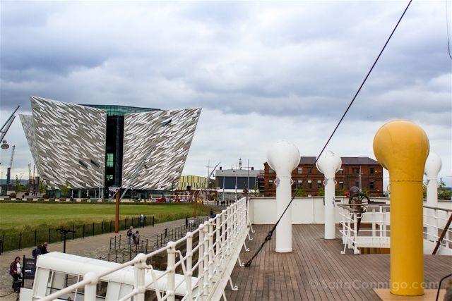 Irlanda Norte Belfast Titanic Exterior SS Nomadic