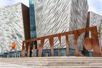 Irlanda Norte Belfast Titanic Exterior Salto
