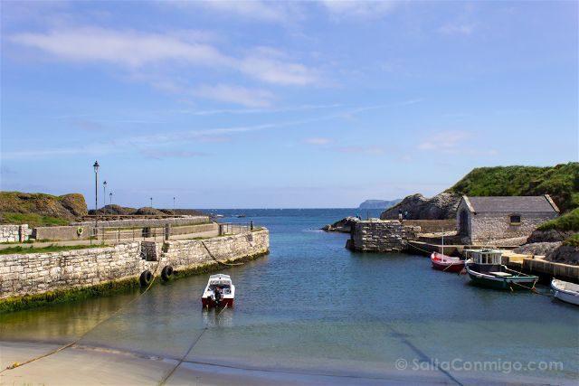 Irlanda Norte Juego de Tronos Game of Thrones Ballyntoy Harbour Puerto Noble Lordsport