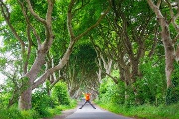 Irlanda Norte Juego de Tronos Game of Thrones Darg Hedges Salto