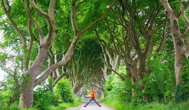 Irlanda Norte Juego de Tronos Game of Thrones Darg Hedges Salto