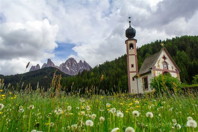 Italia Alto Adige Sudtirol Dolomitas Ranui St Johann