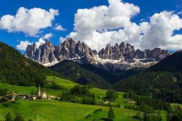 Italia Alto Adige Sudtirol Dolomitas Santa Magdalena Maddalena