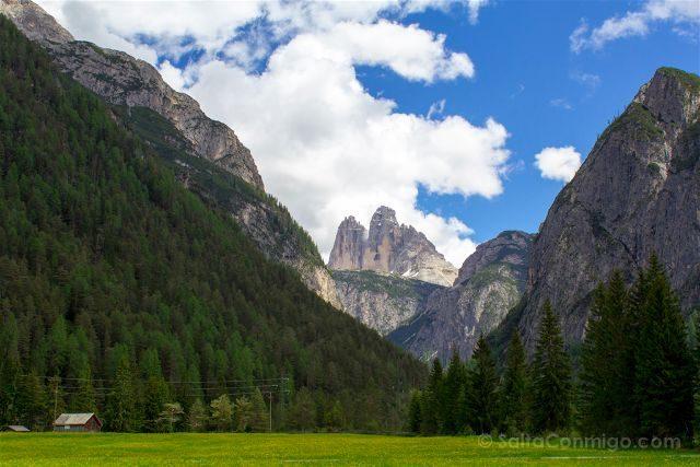 Italia Alto Adige Sudtirol Dolomitas Tre Cime Lavaredo Panorama
