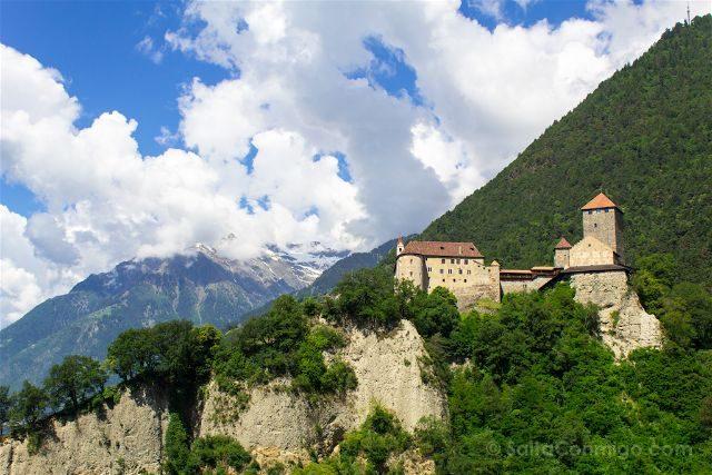 Italia Alto Adige Sudtirol Tirol Castiillo