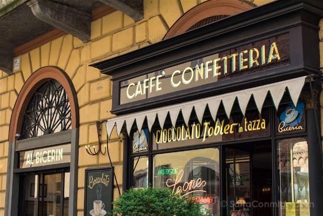 Italia Turin Cafe Historico Al Bicerin Exterior