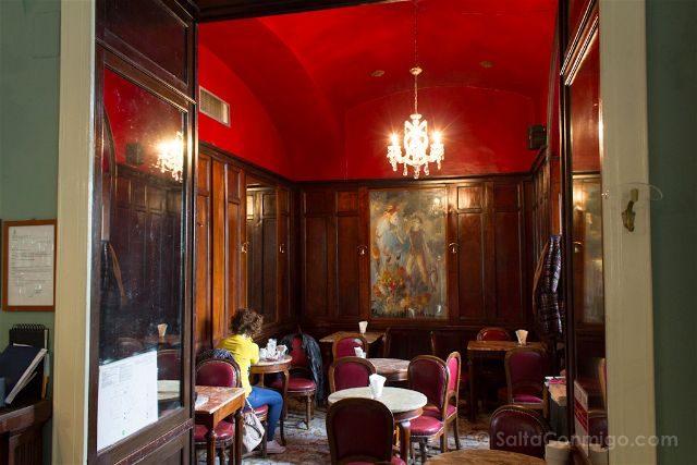 Italia Turin Cafe Historico Elena Interior