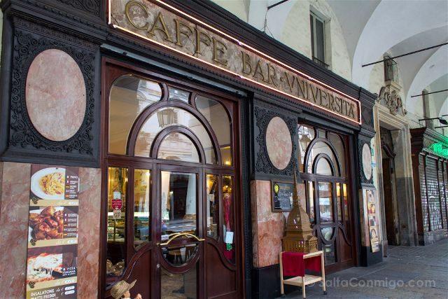 Italia Turin Cafe Historico Fiorio Unversita Exterior