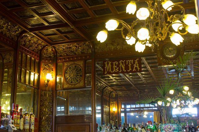 Italia Turin Cafe Historico Mulassano Interior Ruleta