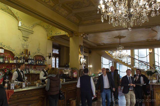 Italia Turin Cafe Historico Torino Interior