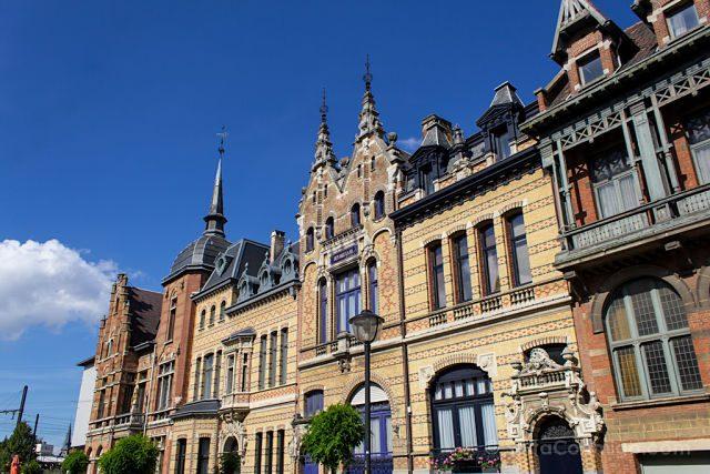 Belgica Flandes Amberes Arquitectura Barrio Zurenborg