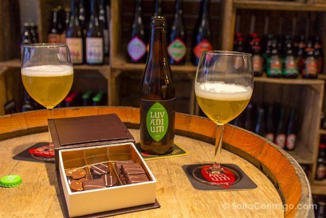 Belgica Flandes Lovaina Leisure Leuven Cata Maridaje Cerveza Chocolate