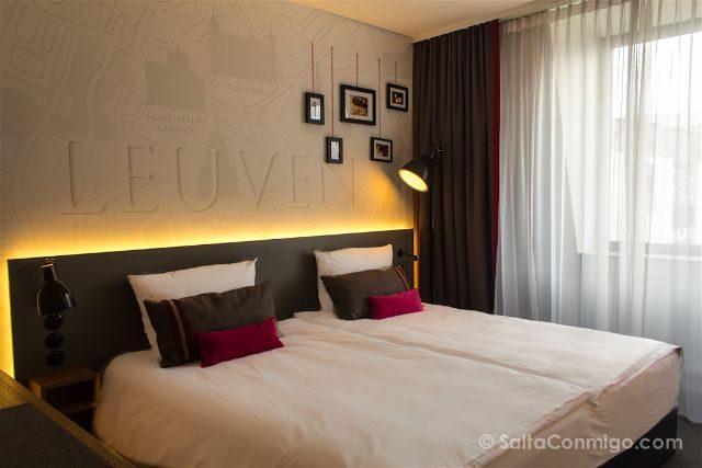 Dormir en Lovaina Hotel Pentahotel Habitacion