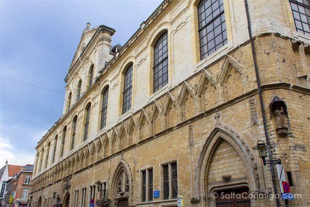Que ver en Lovaina Bélgica Rectorado Universidad Universiteitshal